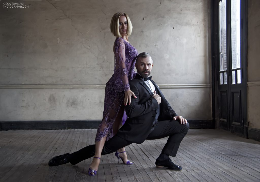 Claudio González y Julia Hiriart Urruty