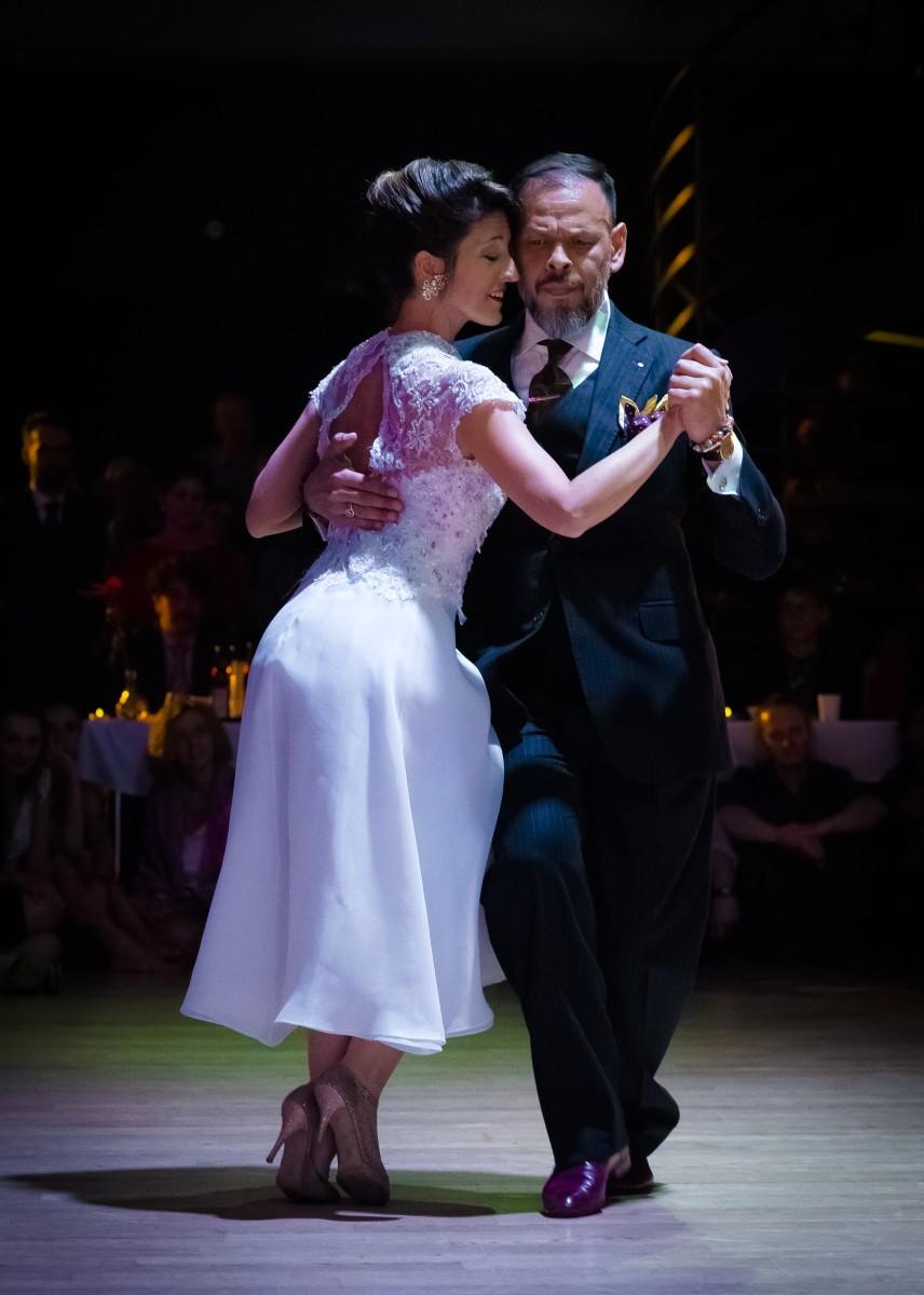 Fabián Peralta y Josefina Bermúdez Ávila