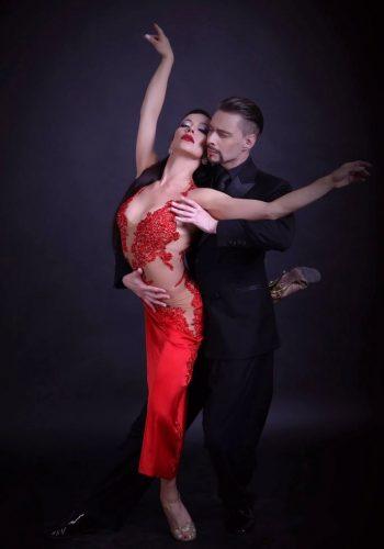 Dmitriy Kuznetsov and Olga Nikola